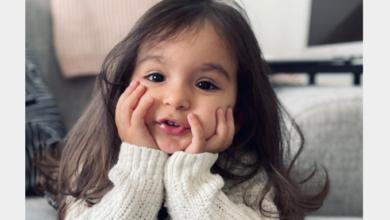 """Photo of الطفلة """"Celia Ghaddar"""" رفقة النجم جاد خليفة في عمل مشترك قربياً"""